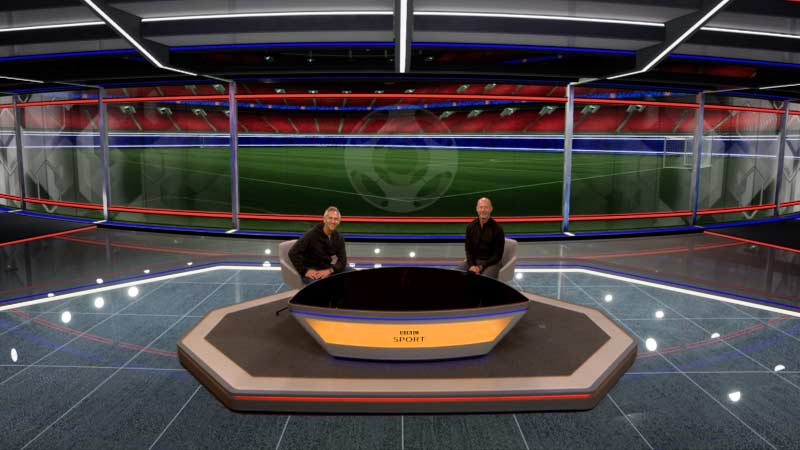 BBC Sport 2019-20 football season with New Virtual Reality studio