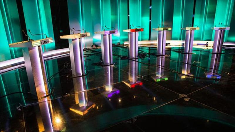 dock10 hosts the ITV Leaders' Debate 2015