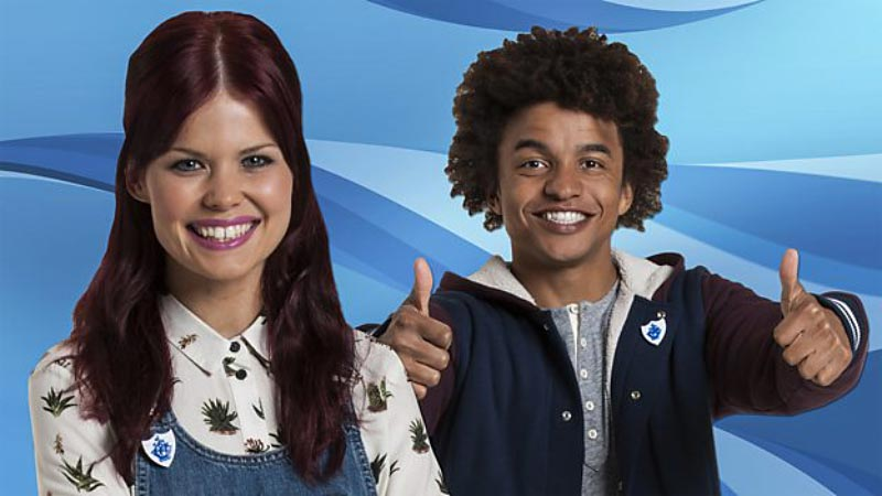 Live from dock10 Blue Peter broadcasts 5000th show and A brand new badge