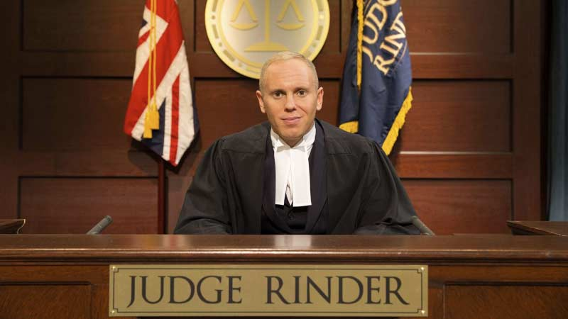 New show Judge Rinder to be filmed at dock10