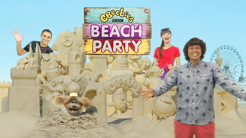 Sun, sand and CBeebies: dock10 helps get CBeebies set for Summer